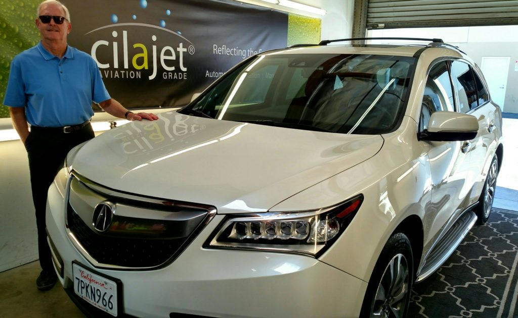 Cilajet Aviation Grade is far superior to any other paint protection programs!