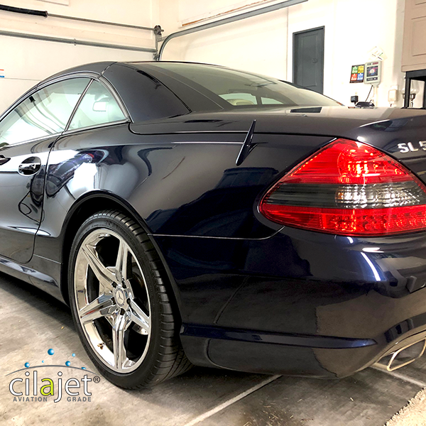 Cilajet sealant makes it easier to maintain your car's paint!
